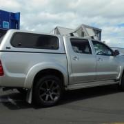 Kudos Tampa 20×9 +30 Gunmetal Toyota Hilux
