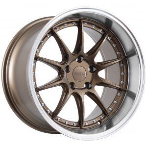 10 spoke deep dish drift style wheel in bronze.