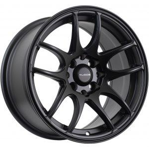 Spilt 5 spoke concave wheel in matt black finish